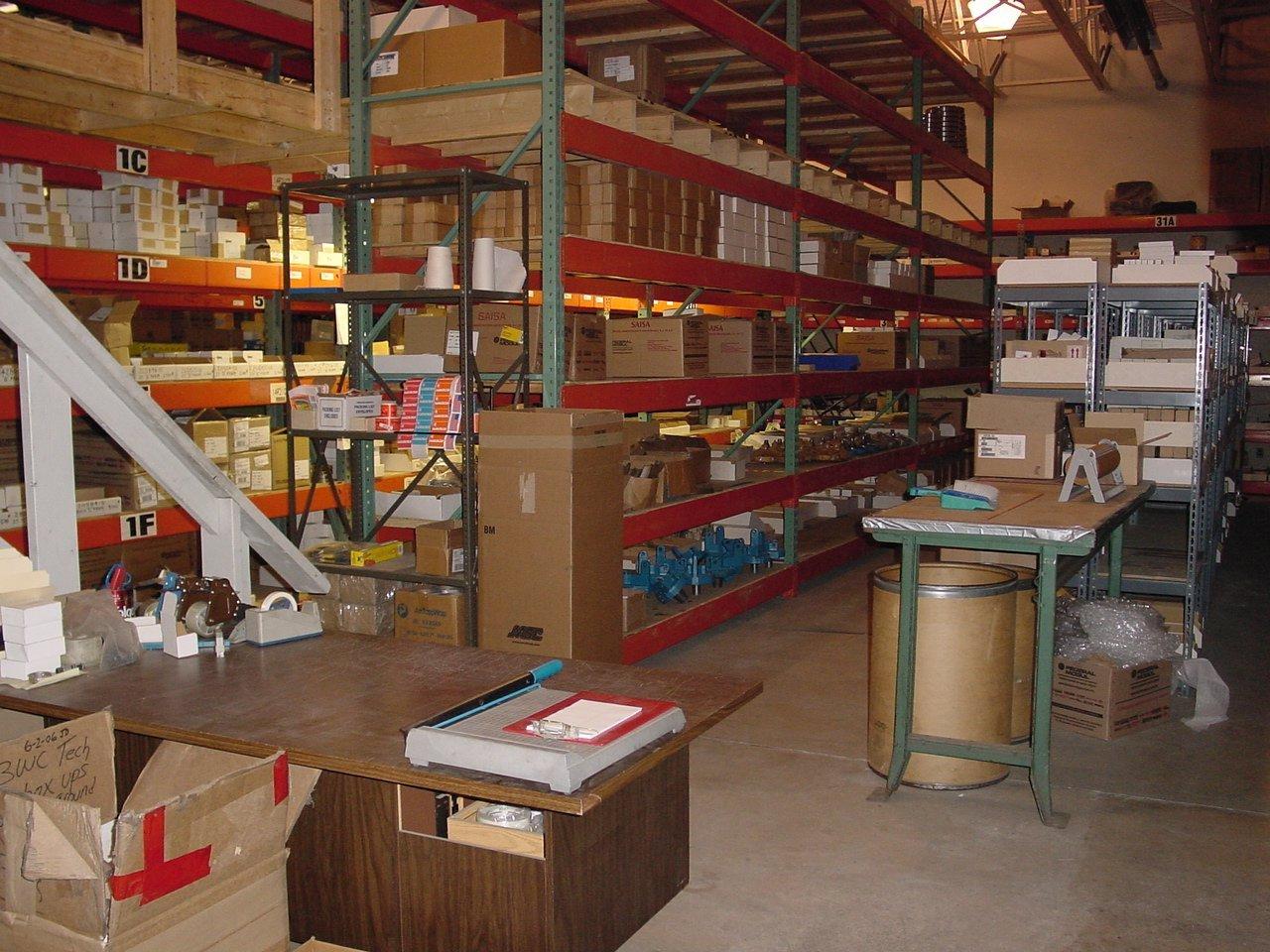 Extensive Parts Department